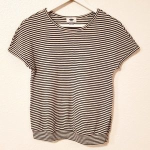 Old Navy Striped Short Sleeved Tee